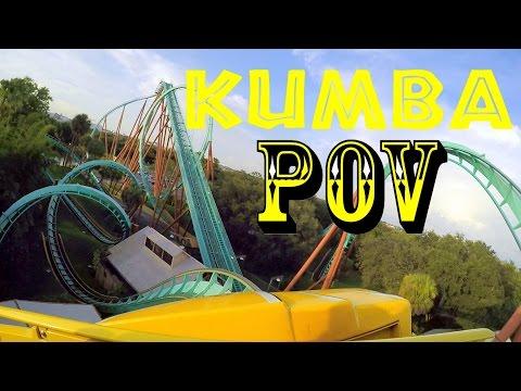 Kumba Front Row POV Busch Gardens Tampa HD!!!