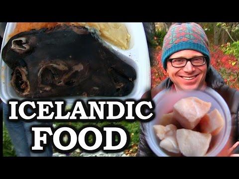 Joe Tries Weird Icelandic Food (The Joe Goes Meetup In Iceland)