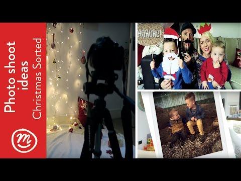 DIY Christmas Photoshoot | Christmas SORTED with Channel Mum #Vlogmas