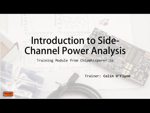 Introduction to Side-Channel Power Analysis (SCA, DPA)