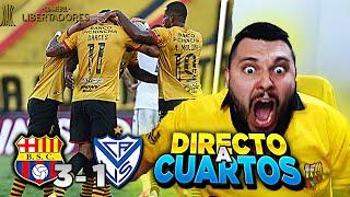 💥 BARCELONA SC (3) Vs (1) VELEZ SARFIELD 💥   Copa Libertadores   ESTAMOS EN CUARTOS🟡⚫   Falso Nueve