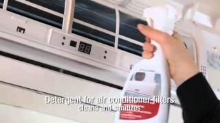 Очищення фільтрів кондиціонера