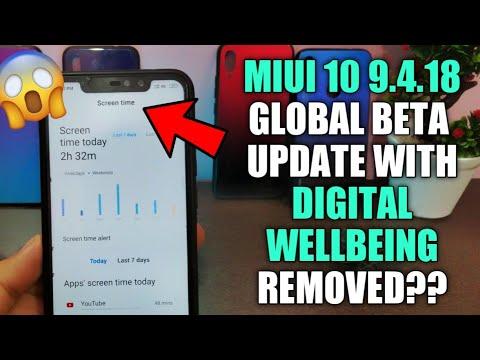Repeat MIUI 10 9 4 18 GLOBAL BETA UPDATE | REDMI NOTE 5 PRO