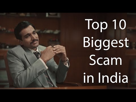 Top 10 Biggest Scam In India In Hindi by the indian times