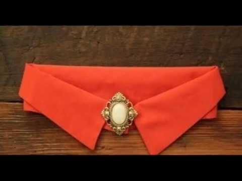 Золотой воротничок из бисера с деревянными вставками. Beaded collar