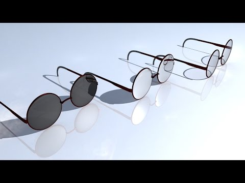Maya tutorial : How to model ( sun ) glasses in Autodesk Maya