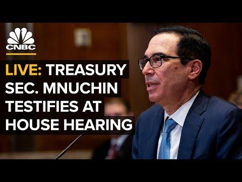Watch: Treasury Secretary Steven Mnuchin testifies before Maxine Waters' House Financial Services Committee