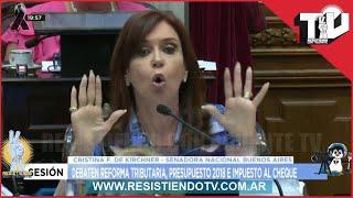 Este discurso de Cristina Kirchner no te lo podes perder . Cristina vuelta a Senadora Nacional 2017