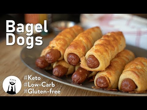 How To Make Bagel Dogs, Keto/Low-Carb/Gluten Free