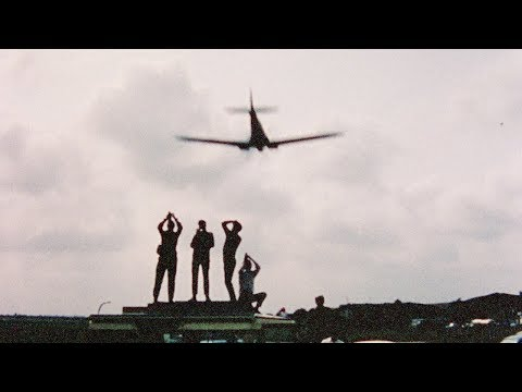 Rare footage from behind-the-scenes of Battle of Britain film, shot