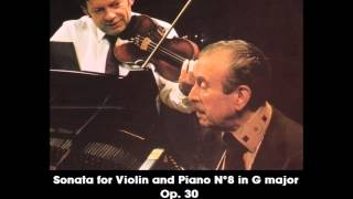 Claudio Arrau & Arthur Grumiaux - Beethoven Sonata for Violin and Piano N°8