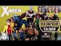 Marvel Legends CALIBAN Build a Figure BAF X Men Wave 4 Figure Review and Ranking