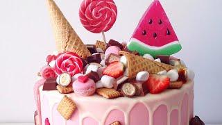 тортики истории и туториалы про украшения тортов