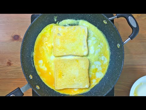 Easy Omelette, Feta and Lemon with Toast
