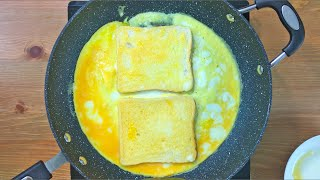 Egg Sandwich Recipe  Egg Recipes For Breakfast  French Toast Recipe  Bread Omelette Recipe