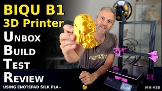 Unbox Build \u0026 Test | BIQU B1 3D Printer | Mantis Hacks