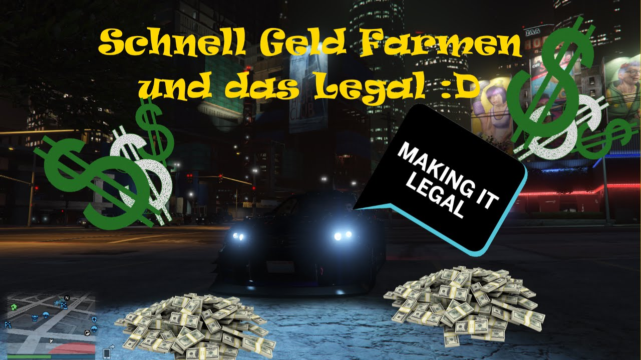 Gta Online Geld Farmen