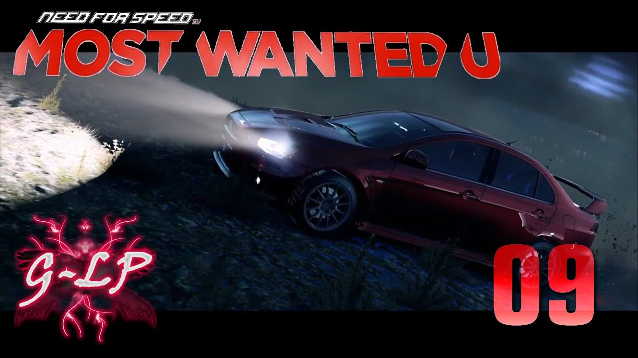 let 39 s play need for speed most wanted u wii u 09. Black Bedroom Furniture Sets. Home Design Ideas