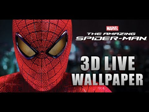 Amazing Spider Man 3d Live Wallpaper Free Download The Amazing Spider Man 3d Live Wallpaper W Clocks Youtube