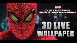 The Amazing Spider-Man 3D Live Wallpaper w/Clocks