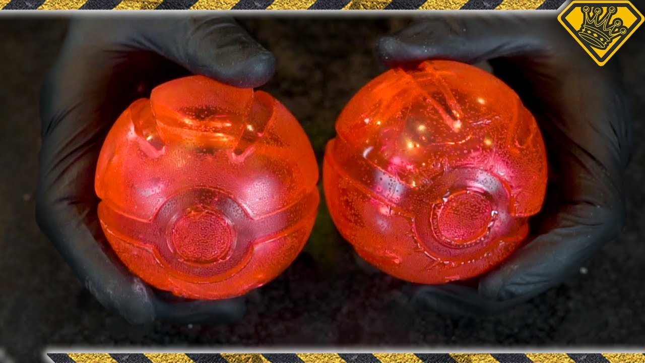 Casting HOLLOW Pokeballs