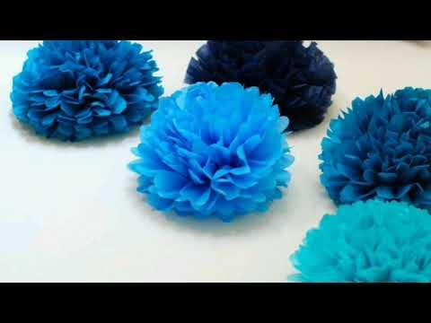 🌸Nádherné květiny z papíru.🏵️ Origami pro začátečníky. Ozdoba do pokoje z papíru 🌸
