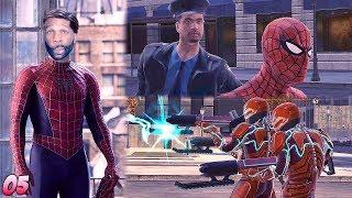 Spider-Man: Web of Shadows Walkthrough Gameplay Part 5 - Mistakes Were Made Bruh