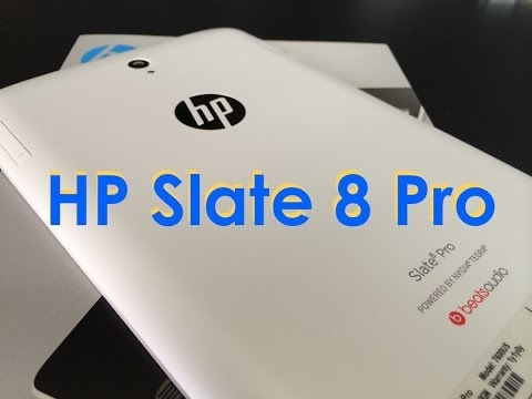 HP Slate 8 Pro Tablet Review : Quick Look : Benchmark