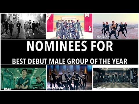 1st Annual K-Ville Awards (2015) - Debut Male Group Of The Year Nominees (VOTE)