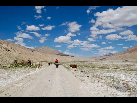 Pamir Highway (Dushanbe - Osh) by bicycle / July 2015