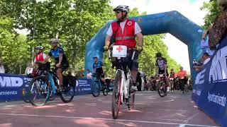1.500 personas celebran el día de la Bici en Valladolid