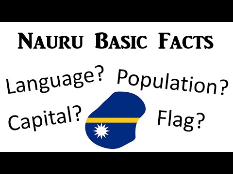 Nauru - Basic Facts