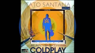 Alan Walker ft Coldplay - Faded Sky Full Of Stars(Remix-Mashup by Tato Santana)