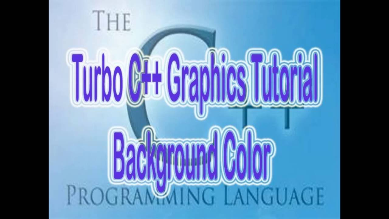 graphics in c++   background change in c++   how to change the text ...