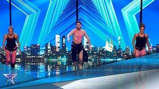 PAZ PADILLA se ATREVE a VOLAR con estos concursantes | Audiciones 8 | Got Talent España 5 (2019)