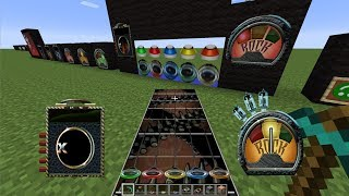 Minecraft: Guitar Hero 3 Resource Pack Review!