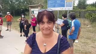 """Tappa a Vasto per l'iniziativa """"Cammina per il Parco"""", dedicata a Fabrizia Arduini"""