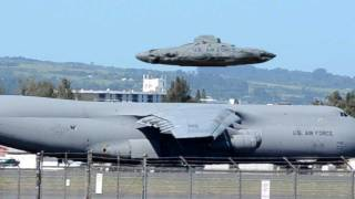 UFO Sightings Air force flying Saucer? Enhanced Close Up Video Stills!!!