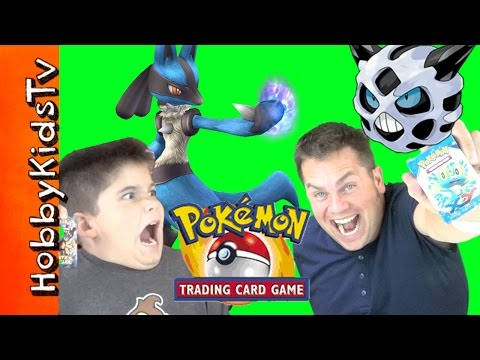 Pokemon Trading Card Game With HobbyPig + HobbyDad