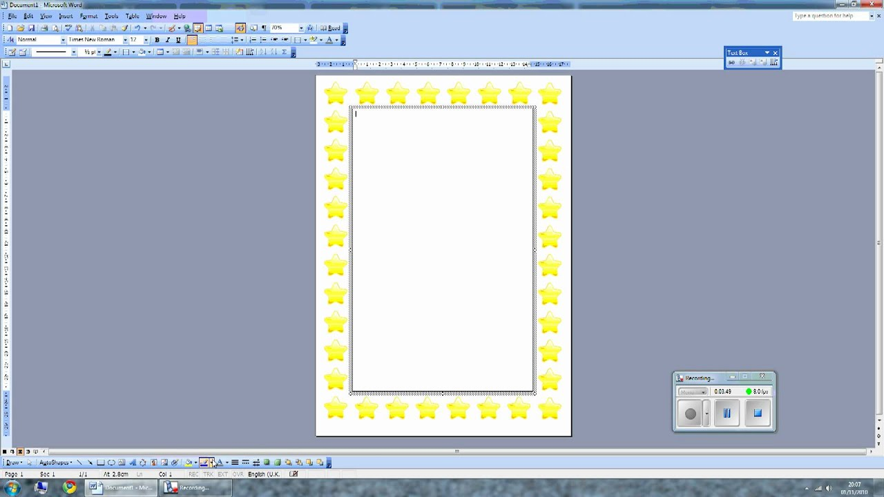How To Write Text On A Picture In Word