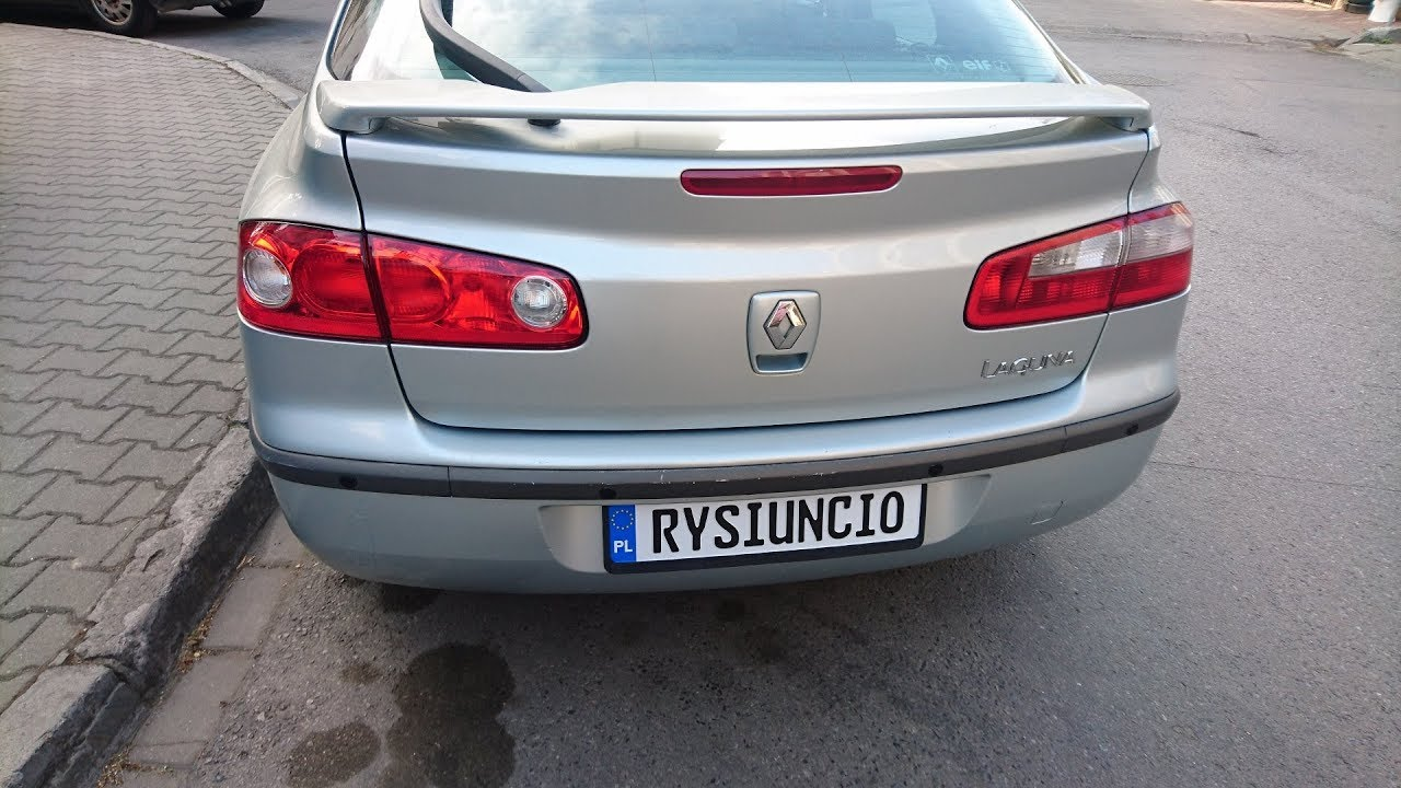 Lamps From Phase 2 To Phase 1 In Renault Laguna Ii