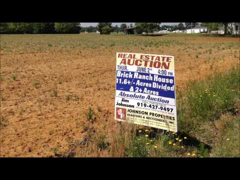 AUCTION: 11+ Acres of Land - Thursday, June 2nd at 4pm - 1320 Prospect Church Rd