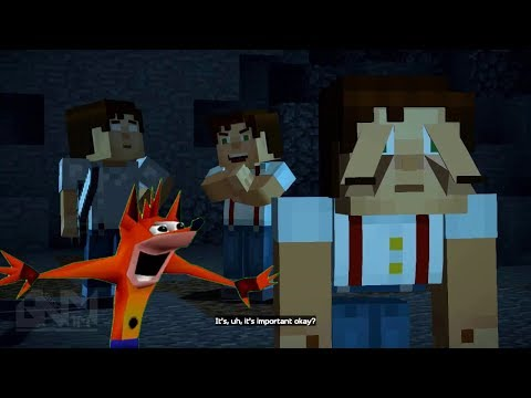 Minecraft Story Mode Season 2 - Try Not To Laugh Version (Glitched Out) 2017