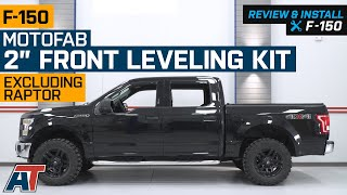 "2004-2019 F150 MotoFab 2"" Front Leveling Kit Review & Install thumbnail"