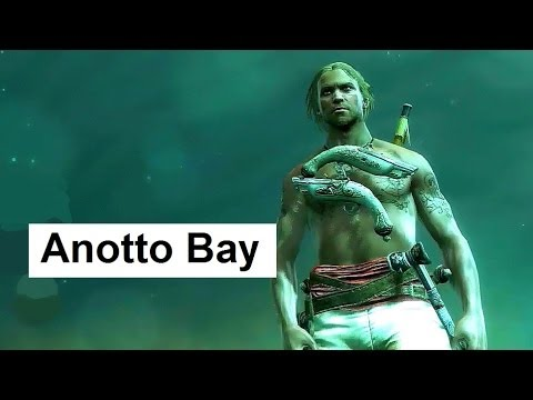 Assassin's Creed 4 Black Flag Shipwreck Anotto Bay Smuggler's Squat Pistol Swords Treasure Maps