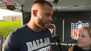 One-on-one with Dak Prescott the day after Cowboys win
