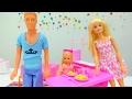 #Кен и Штеффи делают зарядку. Игры для девочек с Барби. #Пупсы и  куколки