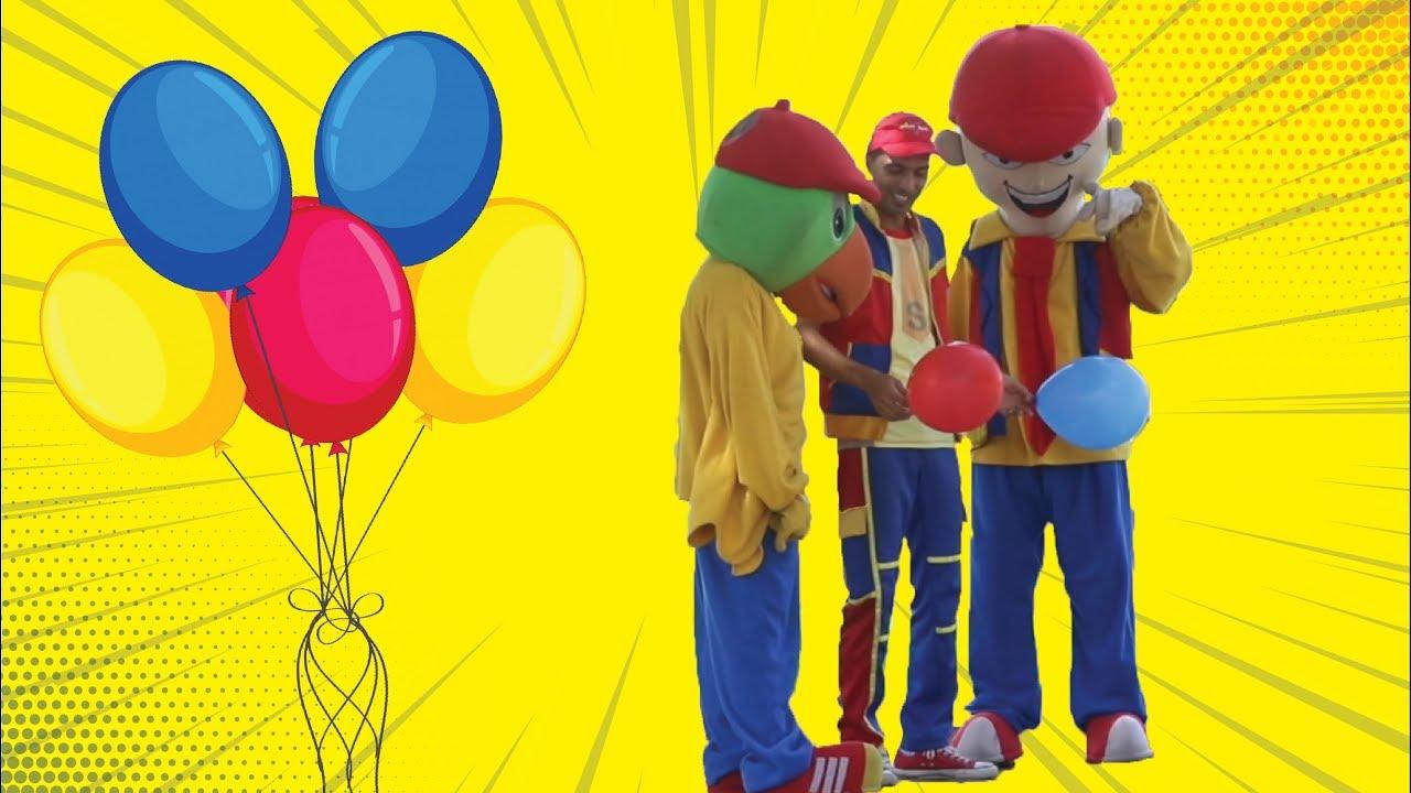 عمو صابر والبالونات  - amo saber and the balloons
