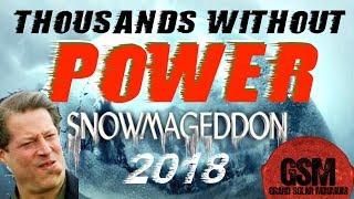 GSM - The Grand Solar Minimum Channel #Snowmageddon2018