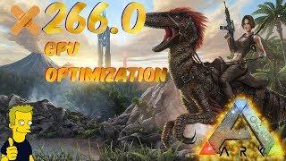 PATCH 266.0 GTX 1080ti ARK: Survival Evolved performance test